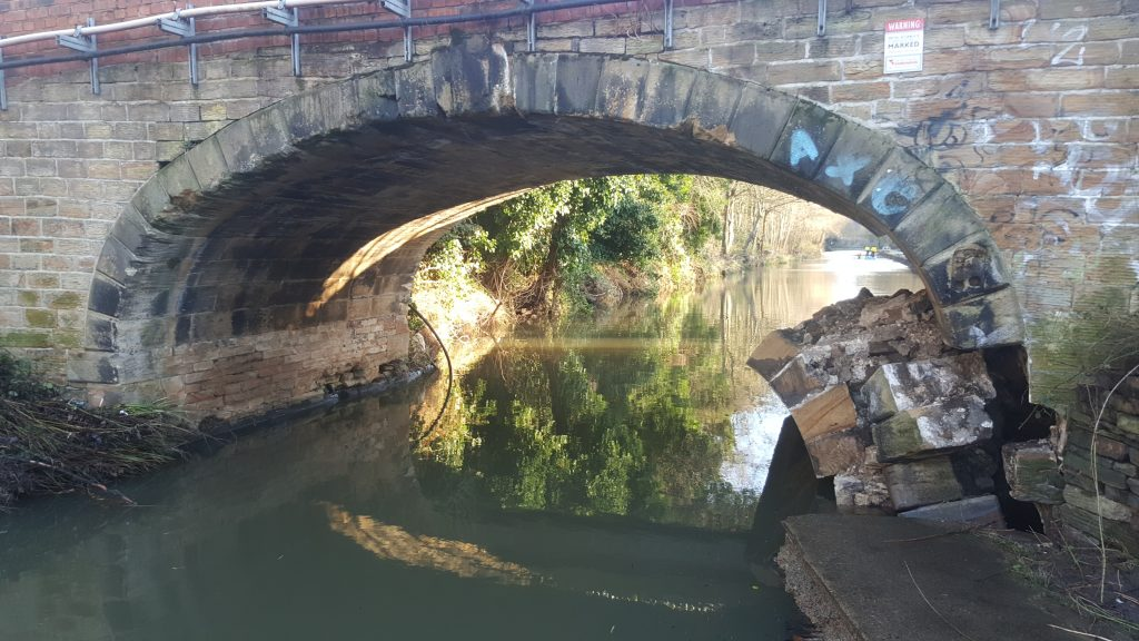 Crowther Bridge - Failed