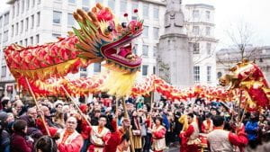 Chinese New Year celebrations being held in London, 2021