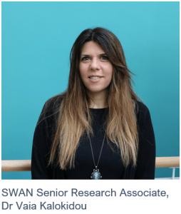 SWAN Senior Research Associate, Dr Vaia Kalokidou