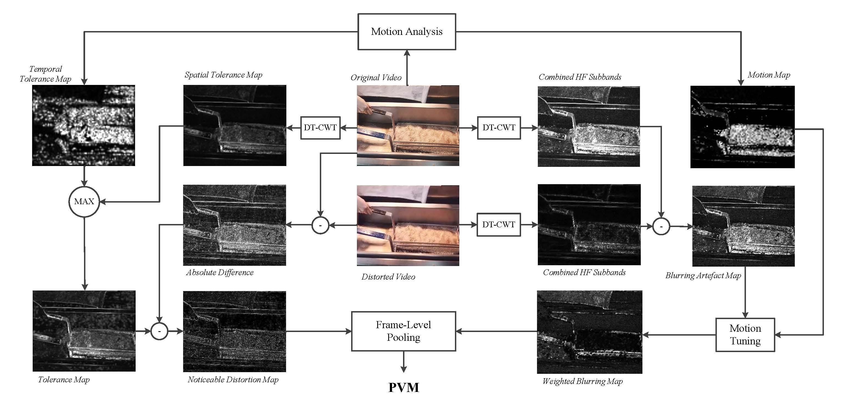 Algorithmic diagram for PVM.