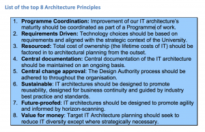 IT Architecture Principles