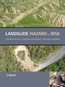 Landslide hazard book cover