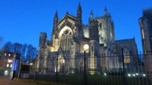 Hereford Cathedral_night