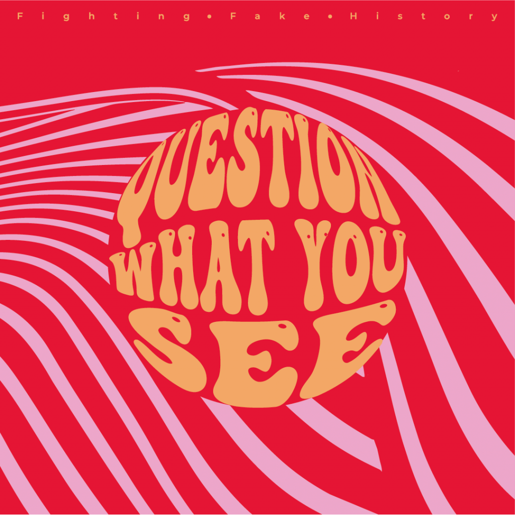 Logo reads 'Question What You See'