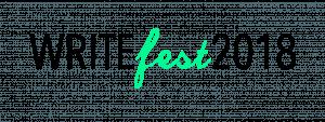 WriteFest 2018 banner