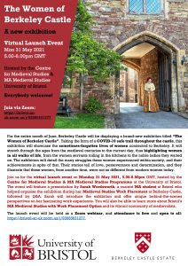 Flyer for an exhibition at Berkeley Castle