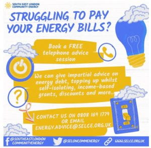 Infographic from South East London Community Energy