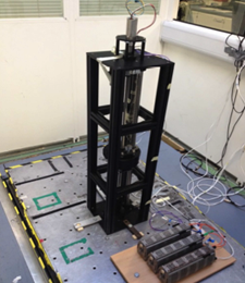 Figure 1: Energy harvesting demonstrator rig