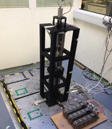 Figure 1: Energy harvesting demonstrator rig
