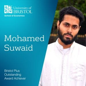 Student Bristol Plus Outstanding Award Achiever