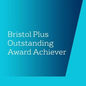Bristol Plus Outstanding Award Achiever