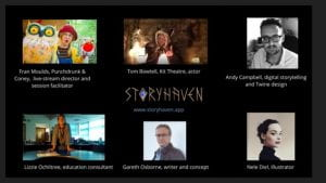 Images of Storyhaven creative team