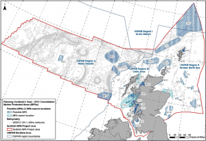 Proposed Scottish MPA Network