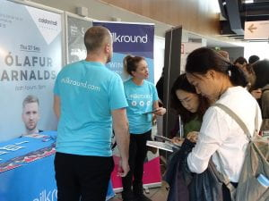 Students at Careers Fair