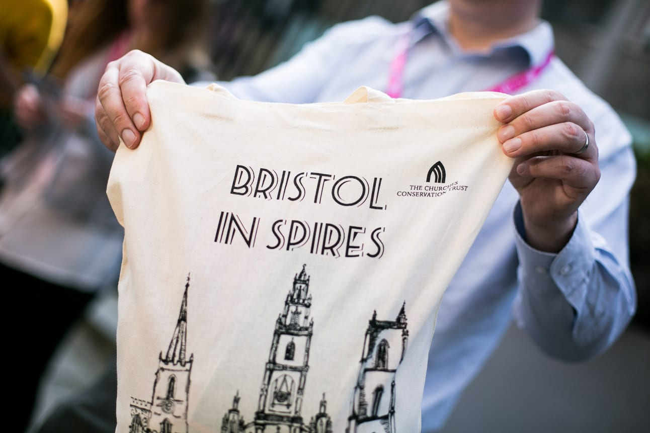 Bristol In Spires teeshirt