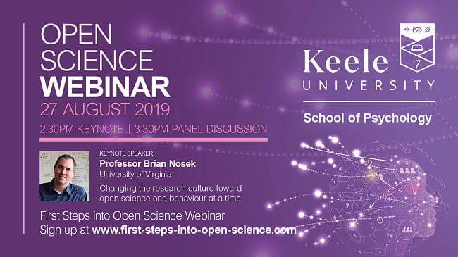 Open Science Webinar 2019