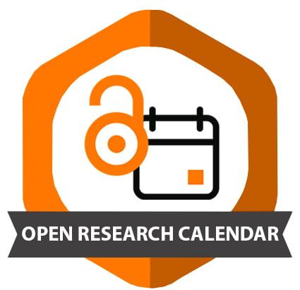 open reasearch calendar