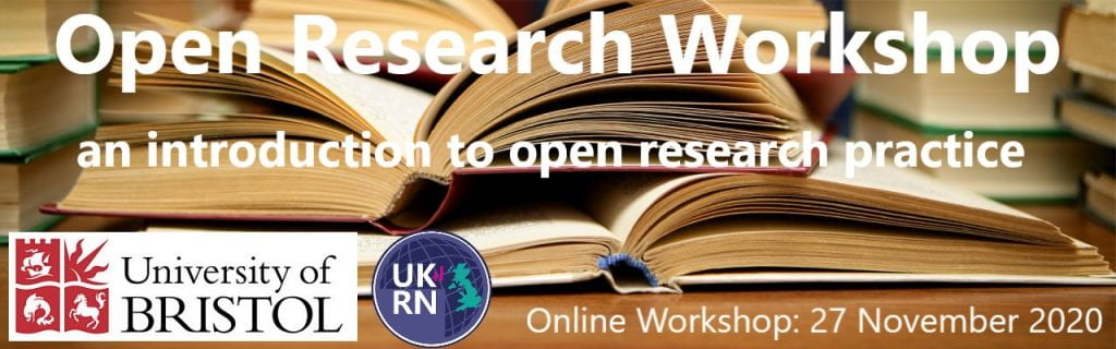 open research workshop banner