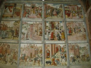 0 whole fresco made in 1514 (Pavia, San Teodoro, also known as Church of St Agnes)