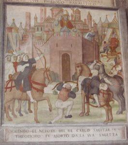 10 Charlemagne nephew throws arrow to T and arrow kills nephew-1