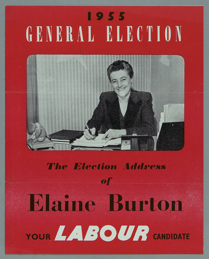 1955 General Election flyer