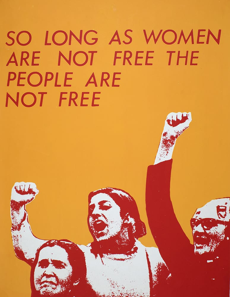 Poster in the Feminist Archive South Collection (DM2123).