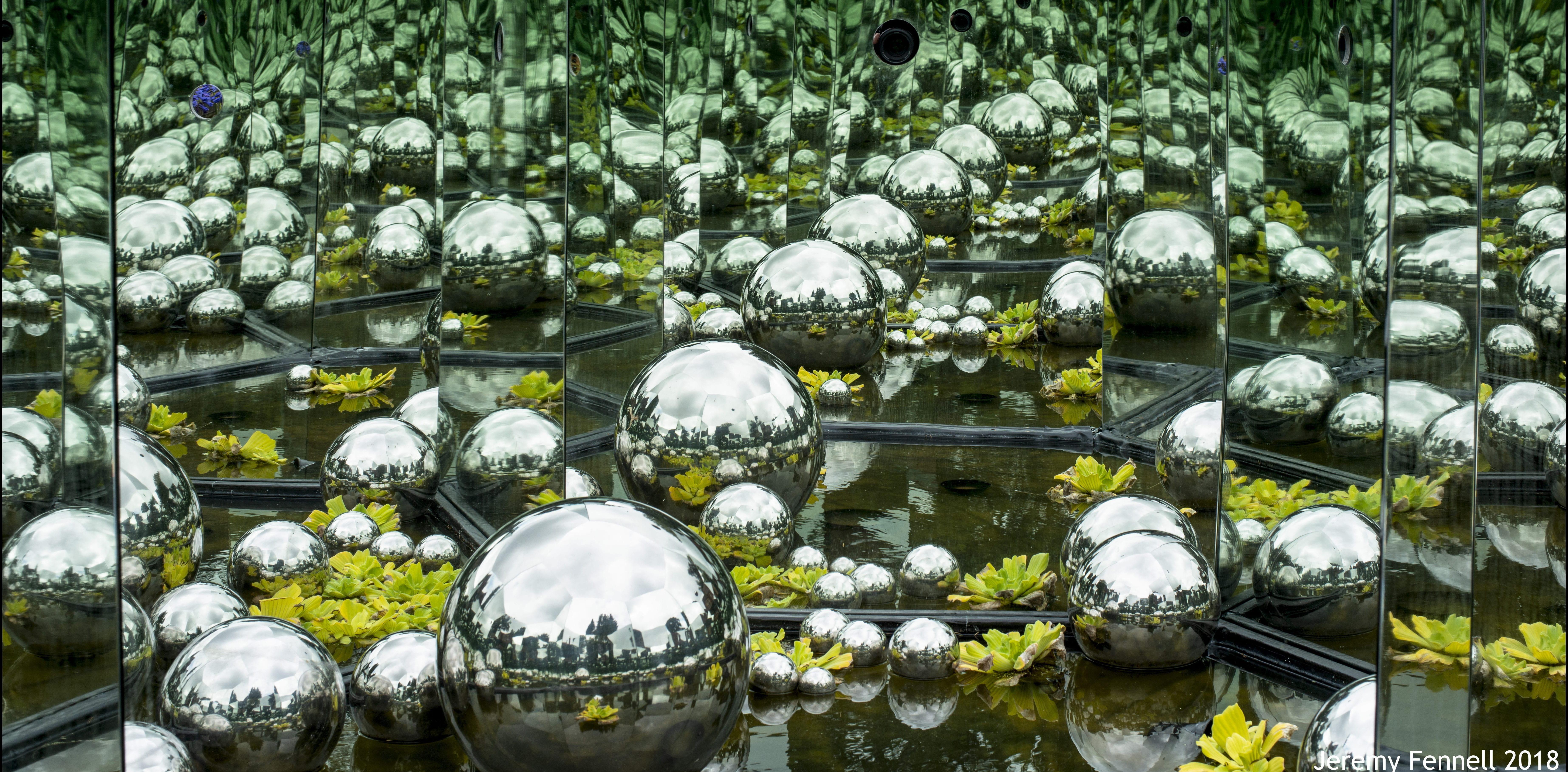 Impossible Garden by Luke Jerram with Bristol Vision Institute