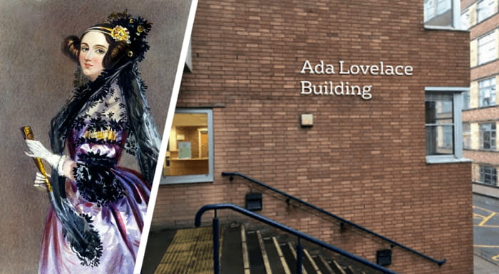 Ada Lovelace and the new Engineering building
