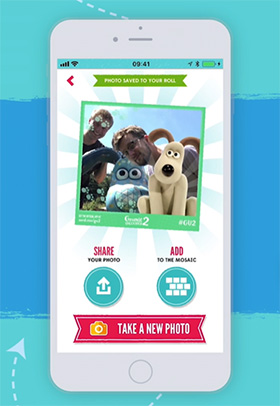 Phone app to find Gromits