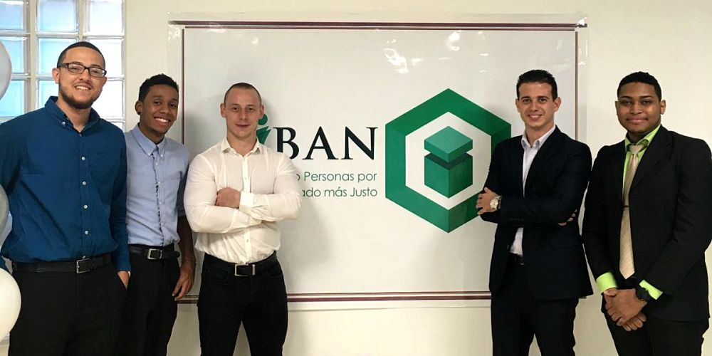 Marc-Anthony Hurr and the IBAN founders