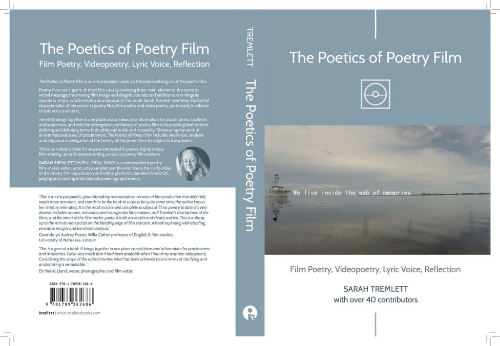 Image of the book cover for The Poetics of Poetry Film