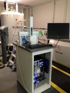 Flow NMR Station