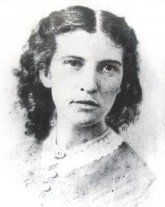 Black and white image of Elizabeth Blackwell