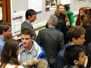 Prof. Graham Parkhurst (UWE Centre for Transport Studies) fielding questions at the break