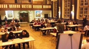 Clifton College plays host to the Worldwise quiz 2014