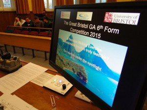 GA Sixth Form Competition 2015 Ecotourism under the spotlight in a decision-making exercise.