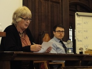 Our thanks to the quizmaster, Rosemary Routledge,  and compiler/scorer, Matt Jones (Clifton College).