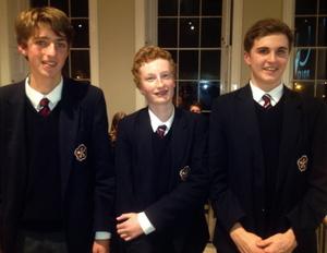 Peter Mumford, Matthew Smith and John Joseph Brady