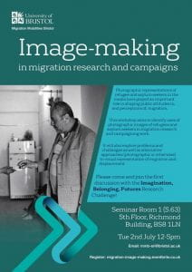 Poster of Image-making workshop
