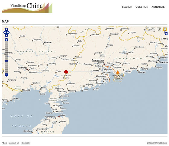 Virtual Earth Map View