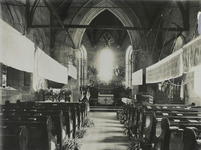 The British Episcopal Church en fête, Foochow