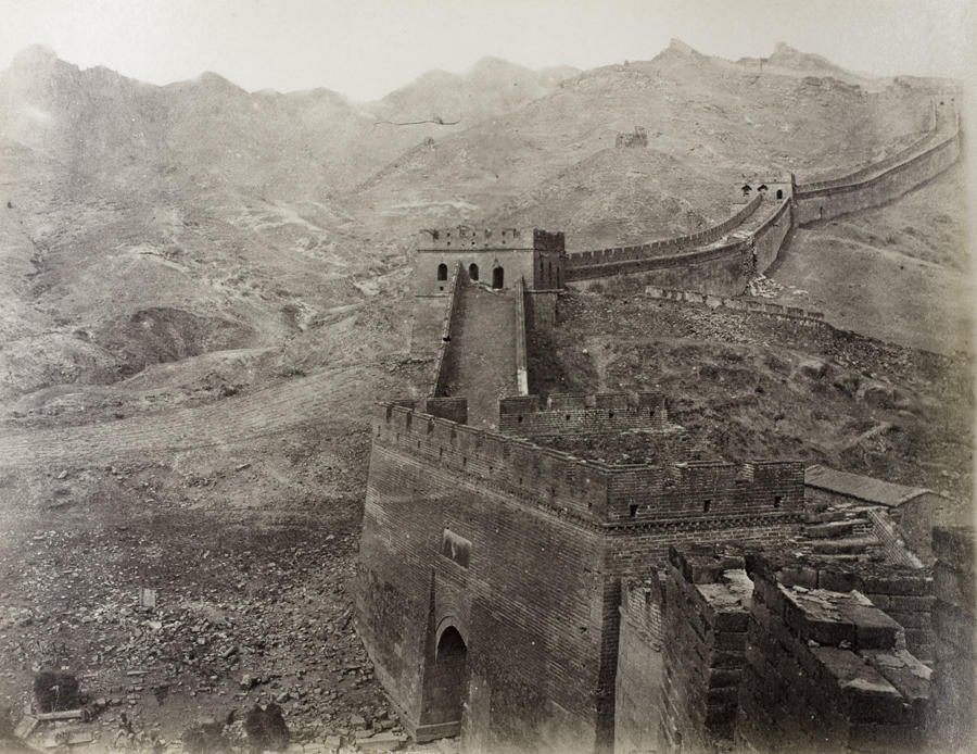 The Great Wall of China at Badaling, 1877