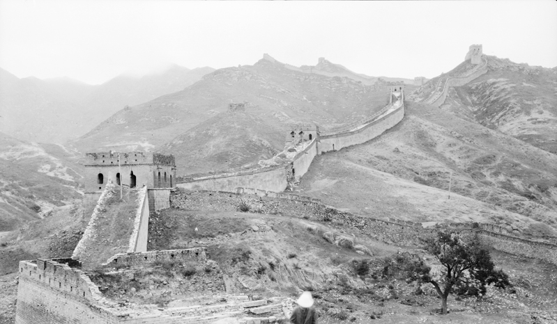 The Great Wall of China at Badaling, c.1911
