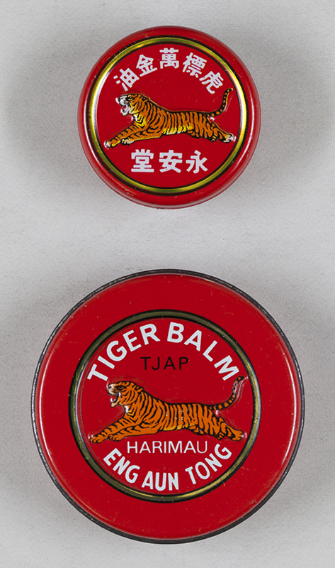 Tiger Balm.  Photograph by Jamie Carstairs.