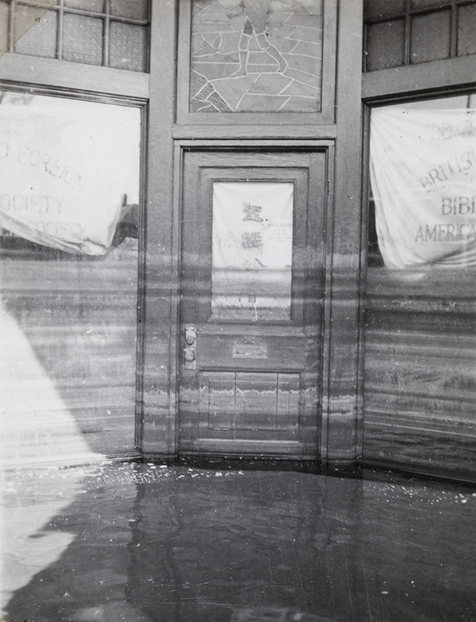 Watermarks, Tientsin flood, September 1938, Morrison collection, Mo04-143.