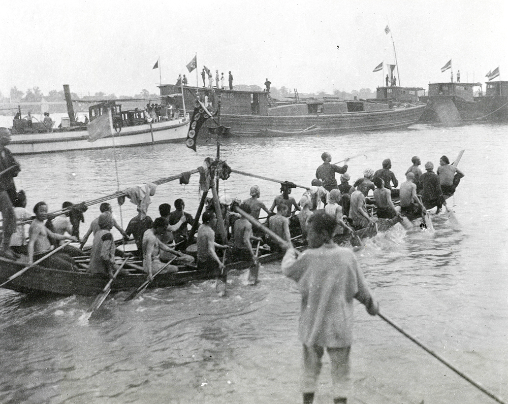 Dragon Boat Festival, Siangtan (Xiangtan), c.1900-1930. Banister collection Ba04-58