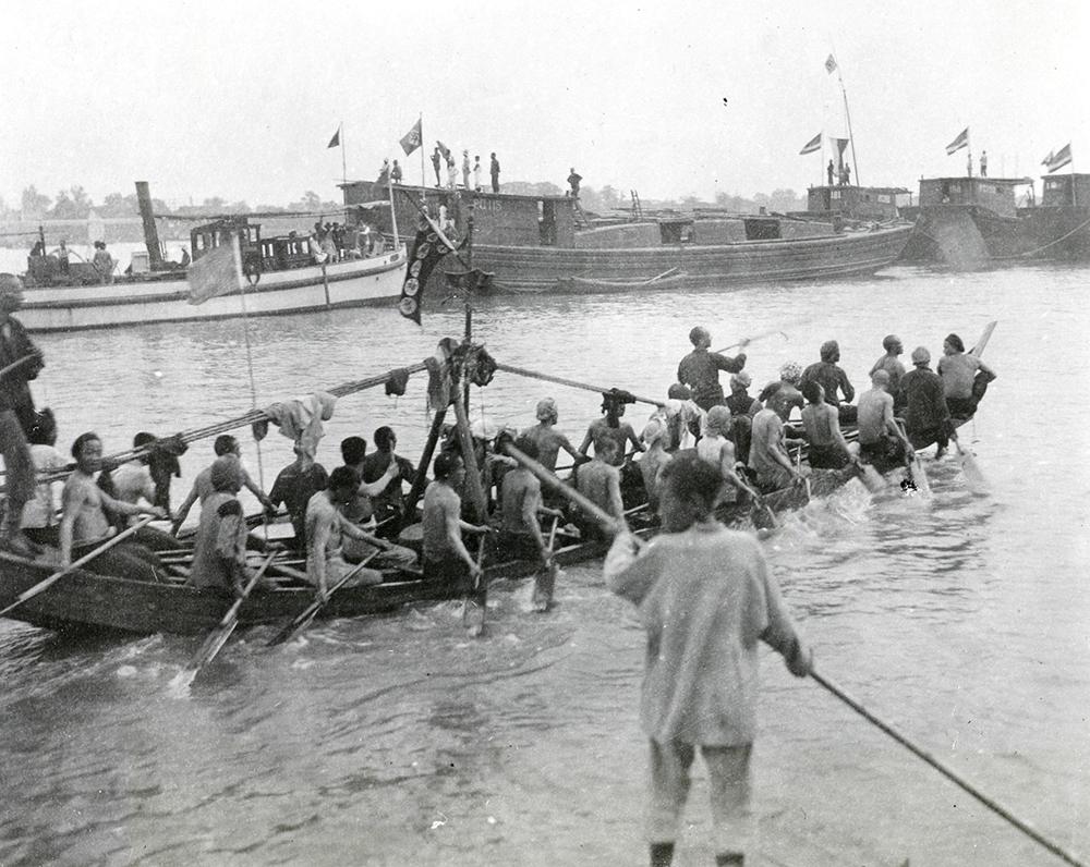 Dragon Boat Festival, Siangtan (Xiangtan), c.1900-1930. Banister collection Ba04-58