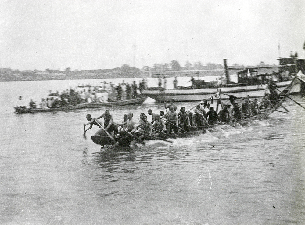 Dragon Boat Festival, Siangtan (Xiangtan), c.1900-1930. Banister collection Ba04-62