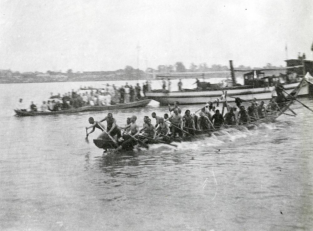 Dragon Boat Festival, Siangtan (Xiangtan), c.1900-1930. Banister collection Ba04-62