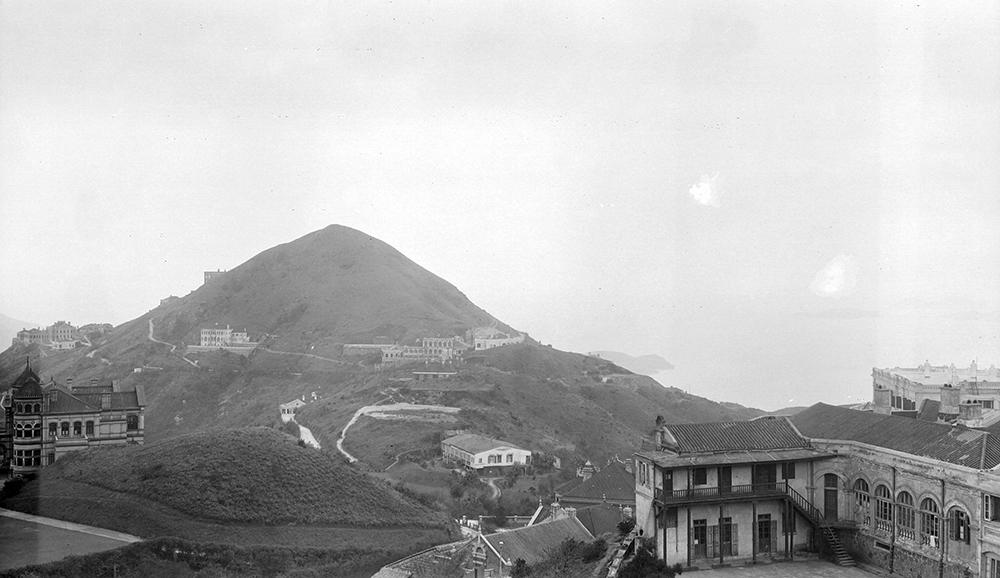 View westwards (2) from Taikoo, Hong Kong, 1911-12.  Sw17-013.